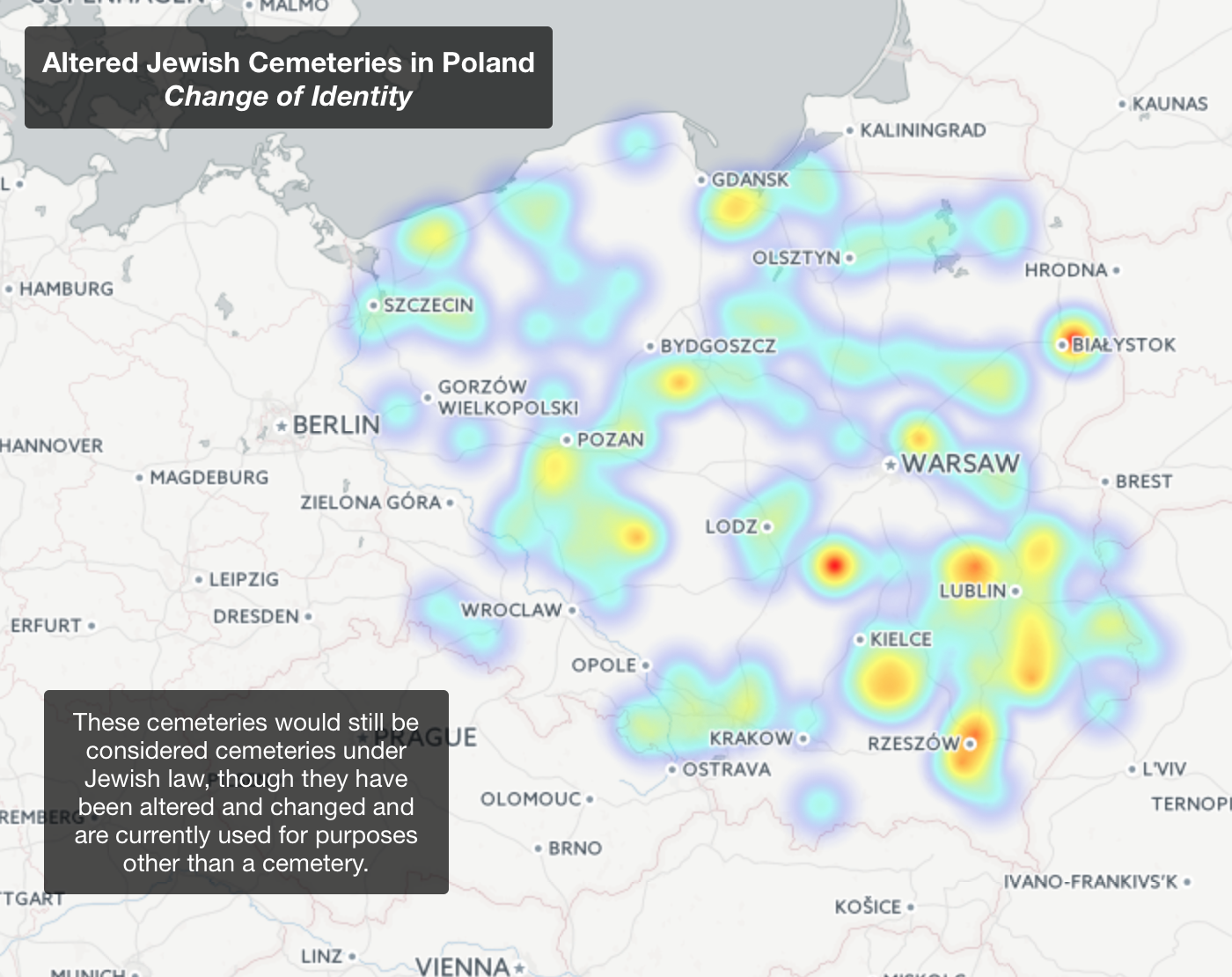 Final Project Mapping The Remembrance Of Jewish Cemeteries In
